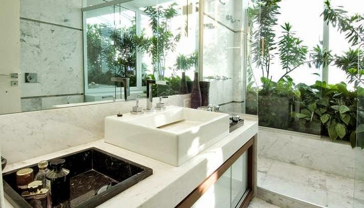 banheiros lavabos com jardins de inverno e verticais veja modelos e dicas novos pinterest. Black Bedroom Furniture Sets. Home Design Ideas