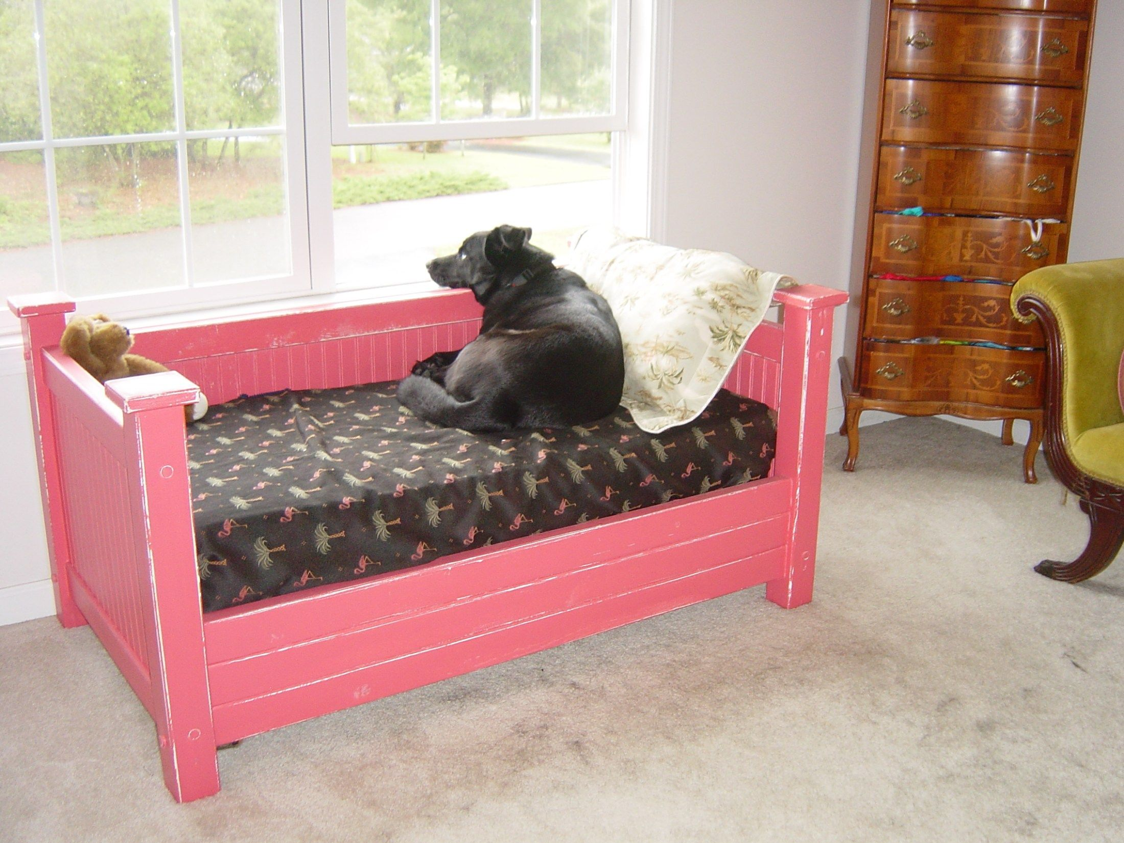 Dog Bed, Best Dog Bed, Crib Mattress Dog Bed, Crib