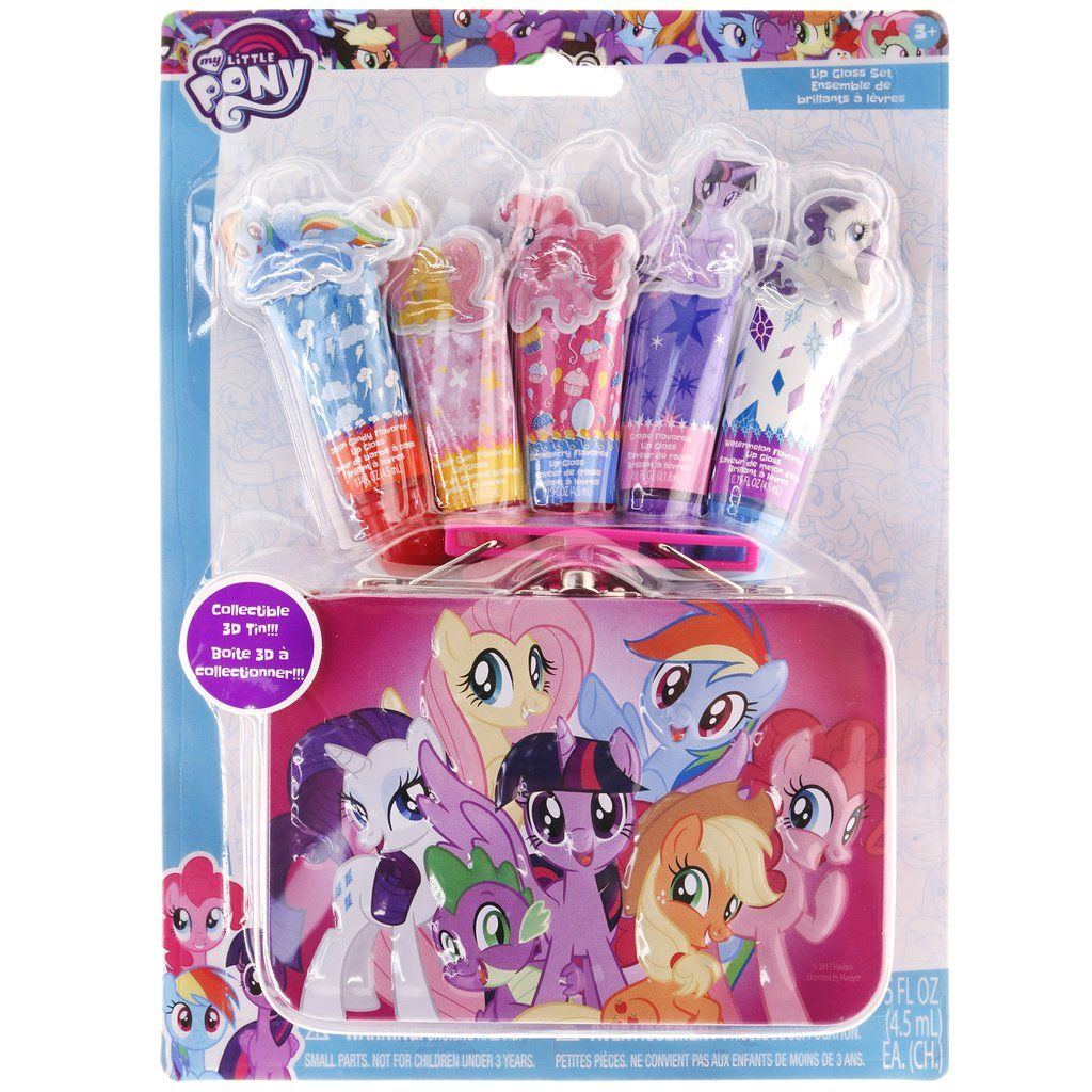My Little Pony Pucker Up Lip Gloss Set with Collectible