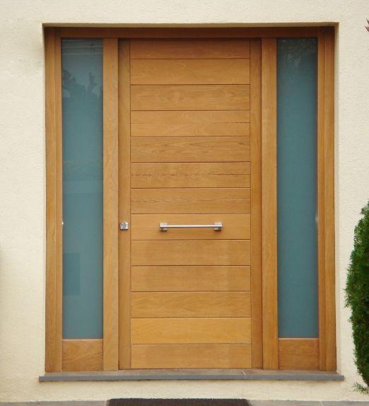 Puerta de madera iscletec puertas de madera iscletec for Puertas de madera para exterior