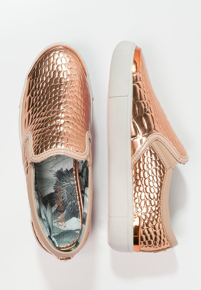 2b9ed9d76 Ted Baker KEZIAH - Mocassins - light pink metallic - ZALANDO.BE