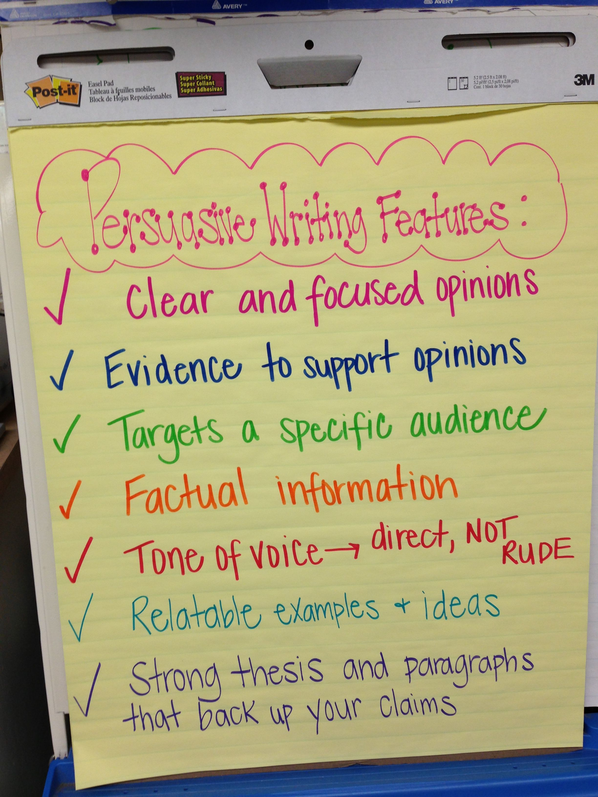 opinion writing topics