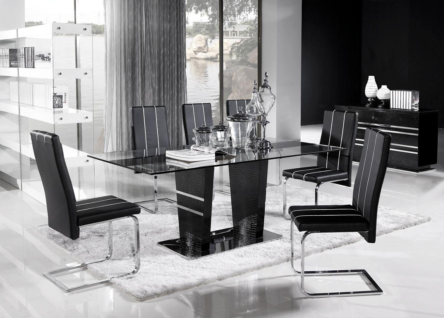 Mesas de cristal templado y base de madera llevatelas ya for Mesas de madera precios