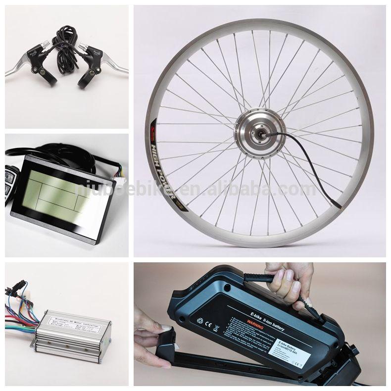 Wholesale Cheap Electric Front Wheel Bike Conversion Kit Electric Bike Kit China Electric Bike Kits Best Electric Bikes Bike Kit