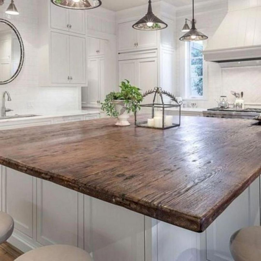 15 Astonishing Wooden Kitchen Countertop Ideas You Have To Know Wood Countertops Kitchen Outdoor Kitchen Countertops Replacing Kitchen Countertops