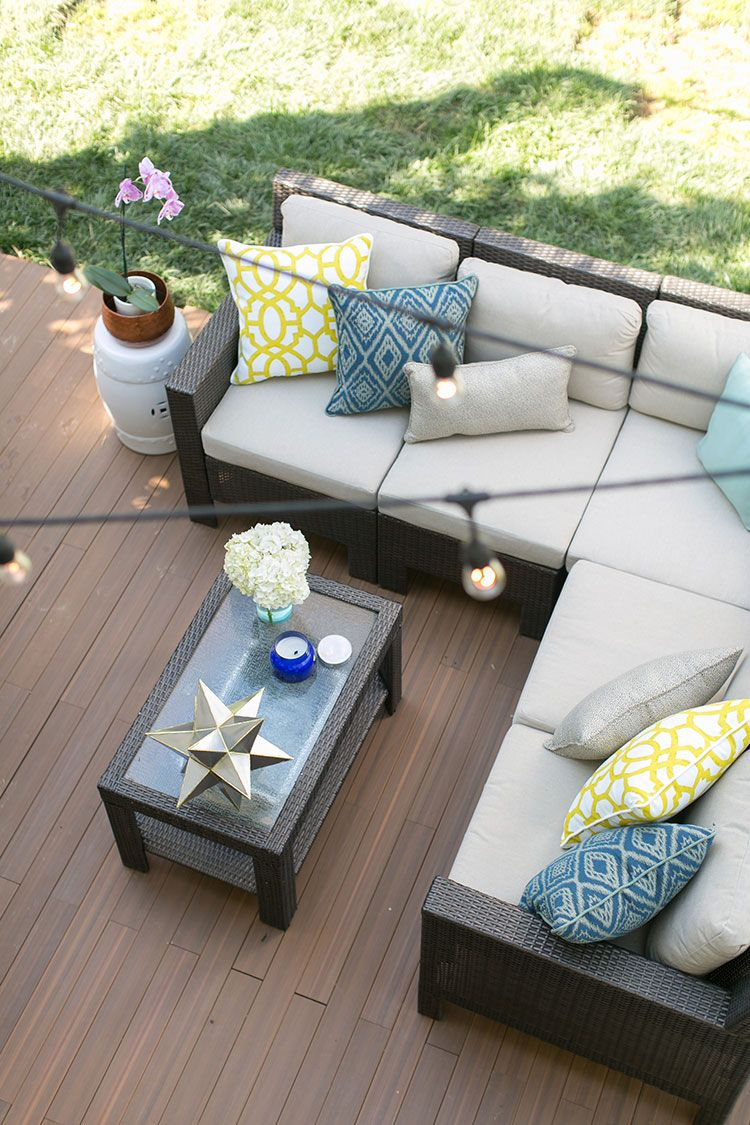 Outdoor Entertaining Area Drab Slab Now Fab Deck