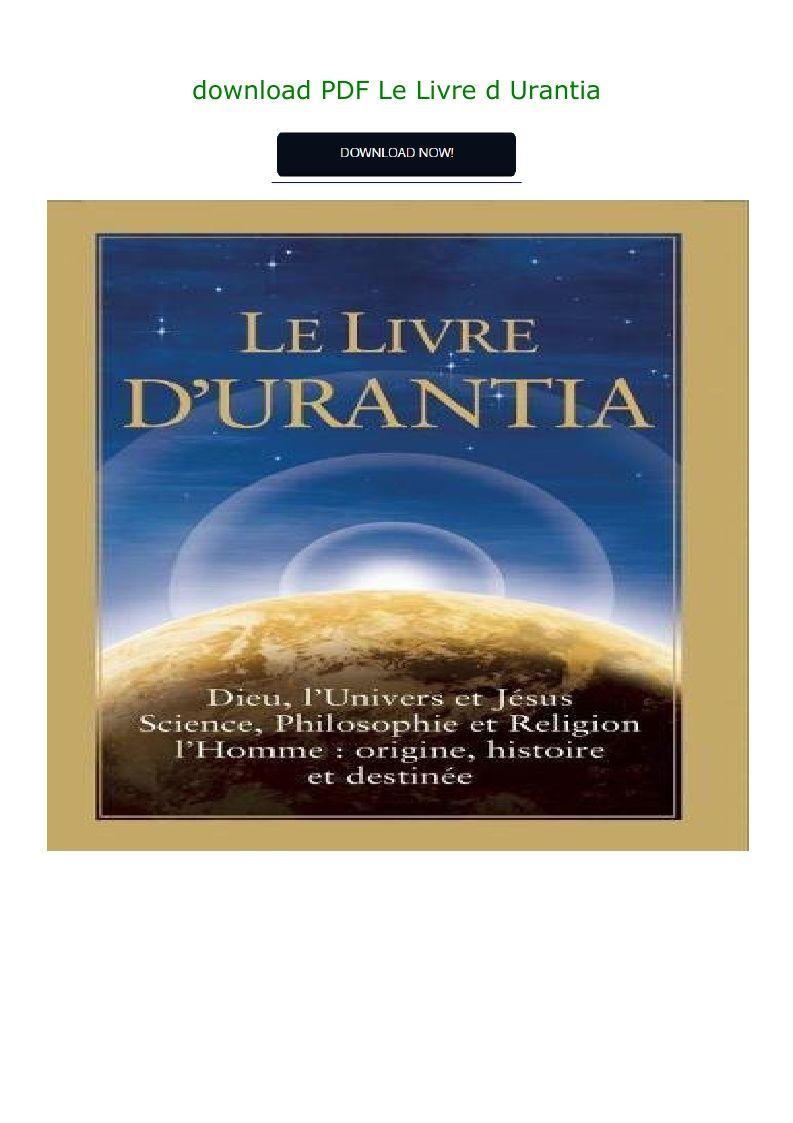 L'univers Les Dieux Les Hommes Pdf : l'univers, dieux, hommes, Download, Livre, Urantia