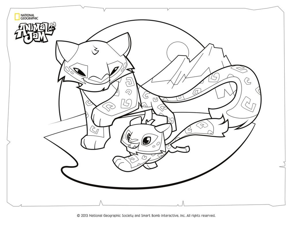Free coloring pages national geographic - Http Colorings Co Animal Jam Coloring Pages