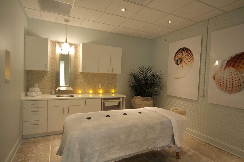 Coastal Inspired Massage Room At Occo Skin Studio In