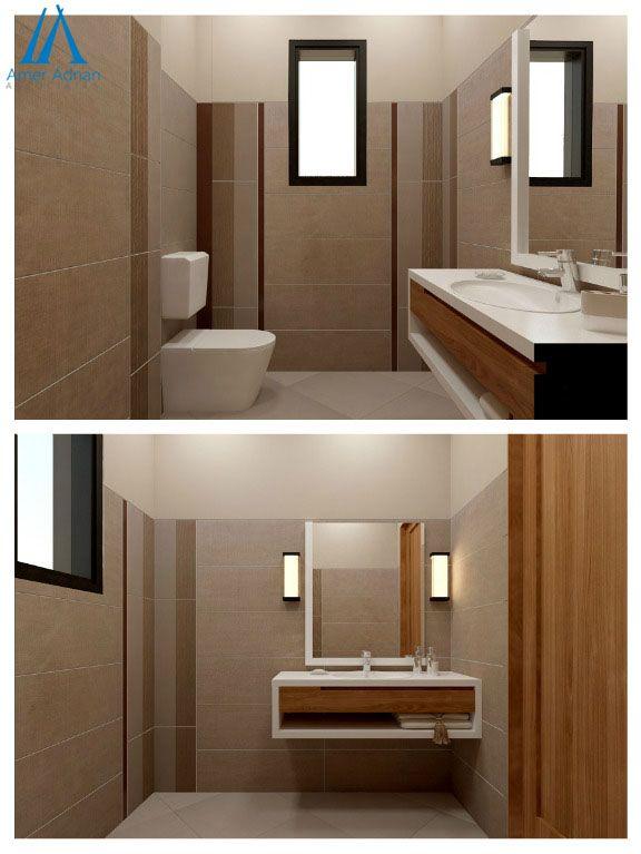 Modern Bathroom Interior 3d Design Option By Ameradnan Associates Modern Bathrooms Interior Bathroom Interior Bathroom Design
