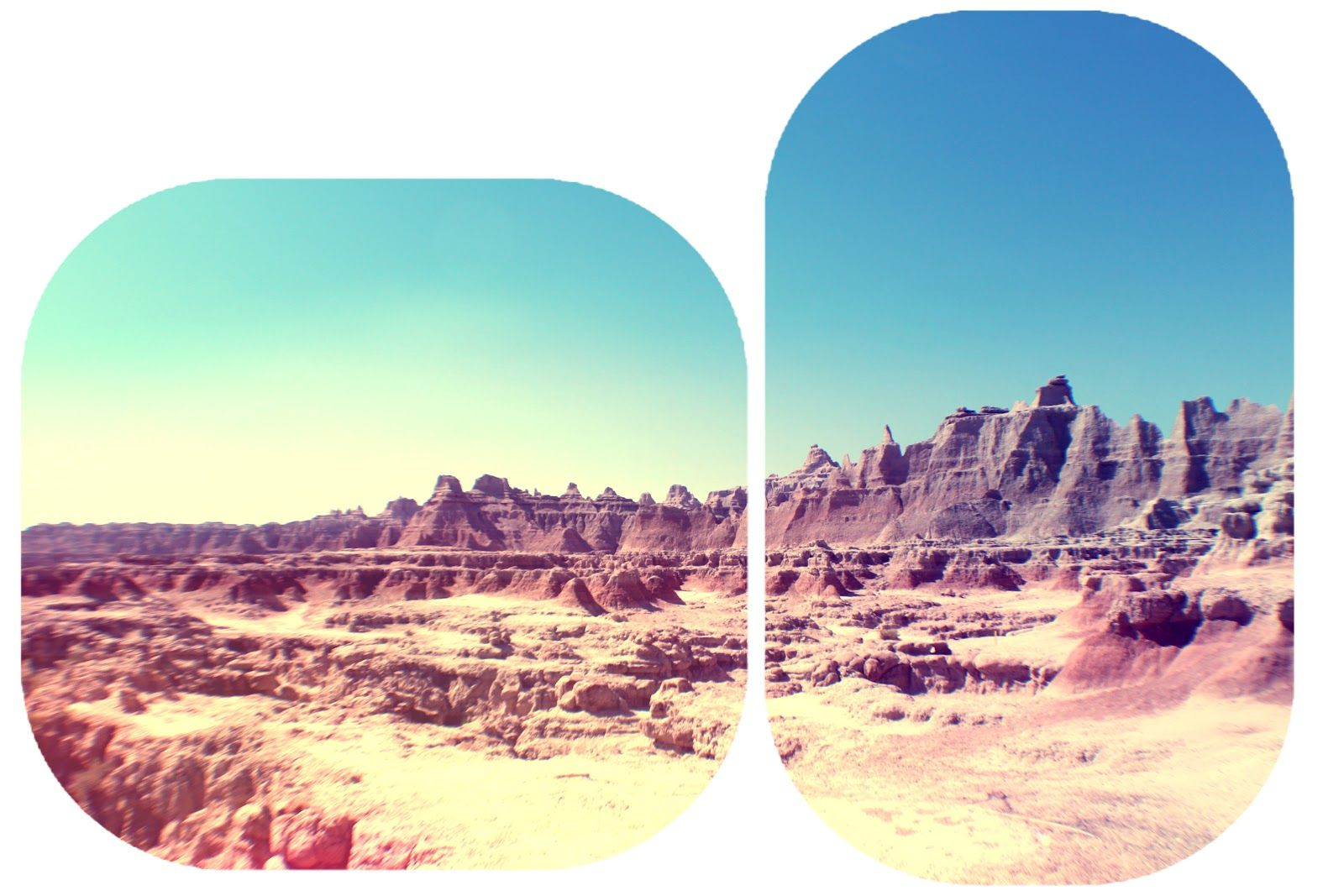 The Drifting Deltiologist, my recent trip to the Badlands