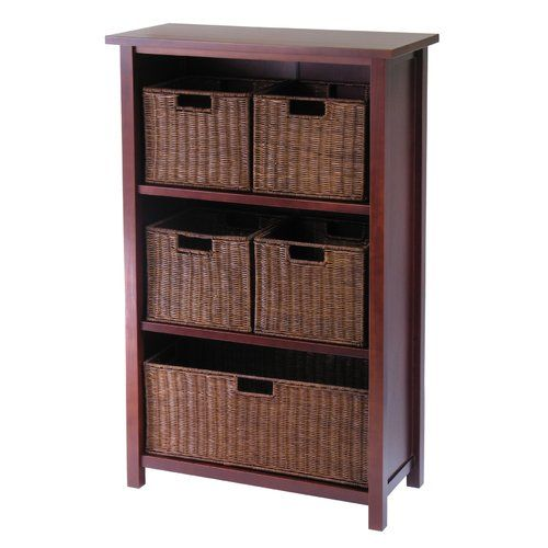 Found It At Wayfair Lavallie 5 Drawers Storage Shelf Shelf Baskets Storage Decorative Storage Cabinets Basket Shelves