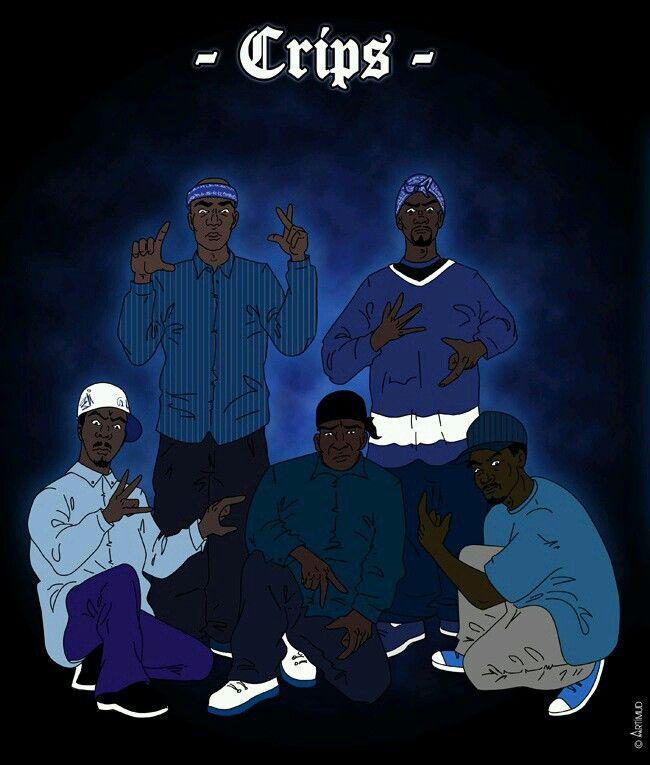 Awwready Tru 2 Blue Compton Crips Dope Art Graffiti