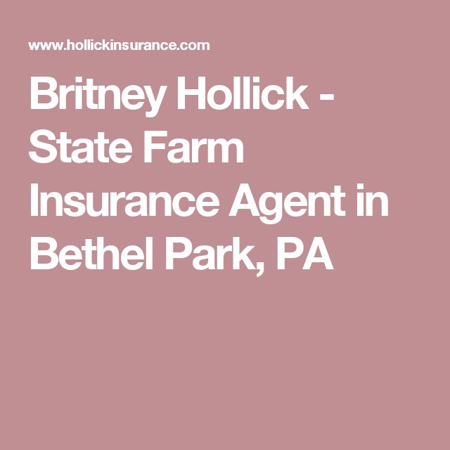 State Farm Quote Adorable Britney Hollick  State Farm Insurance Agent In Bethel Park Pa . Design Inspiration