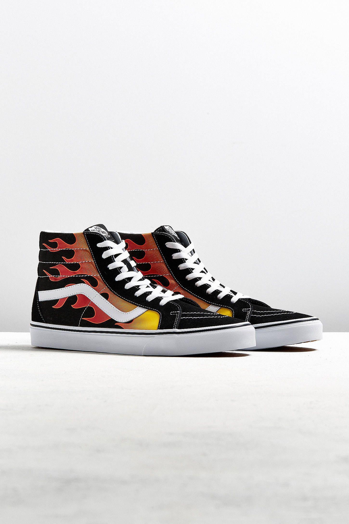 Vans Sk8-Hi Reissue Flames Sneaker