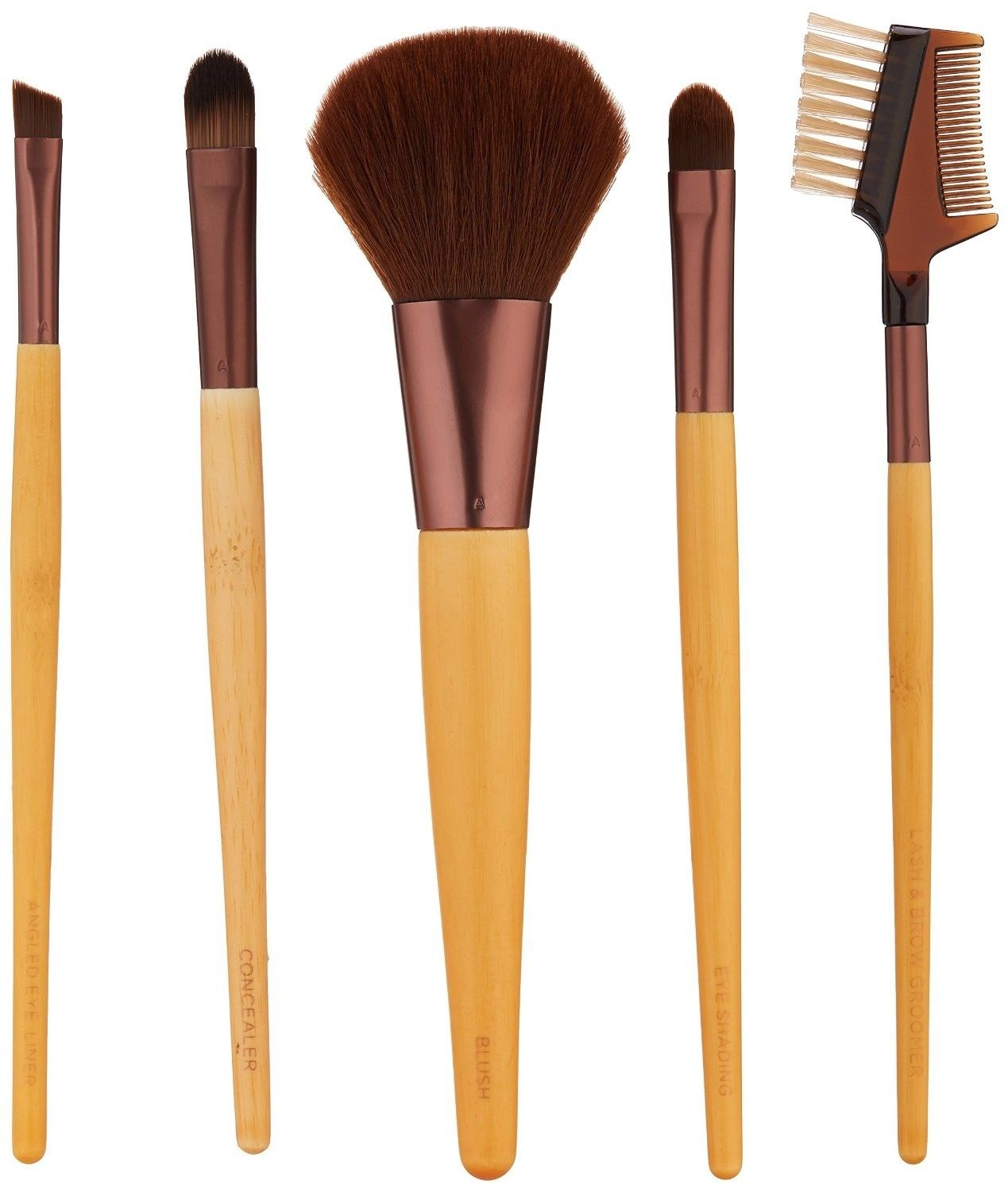 Makeup brushes from EcoTools that last for years. Best
