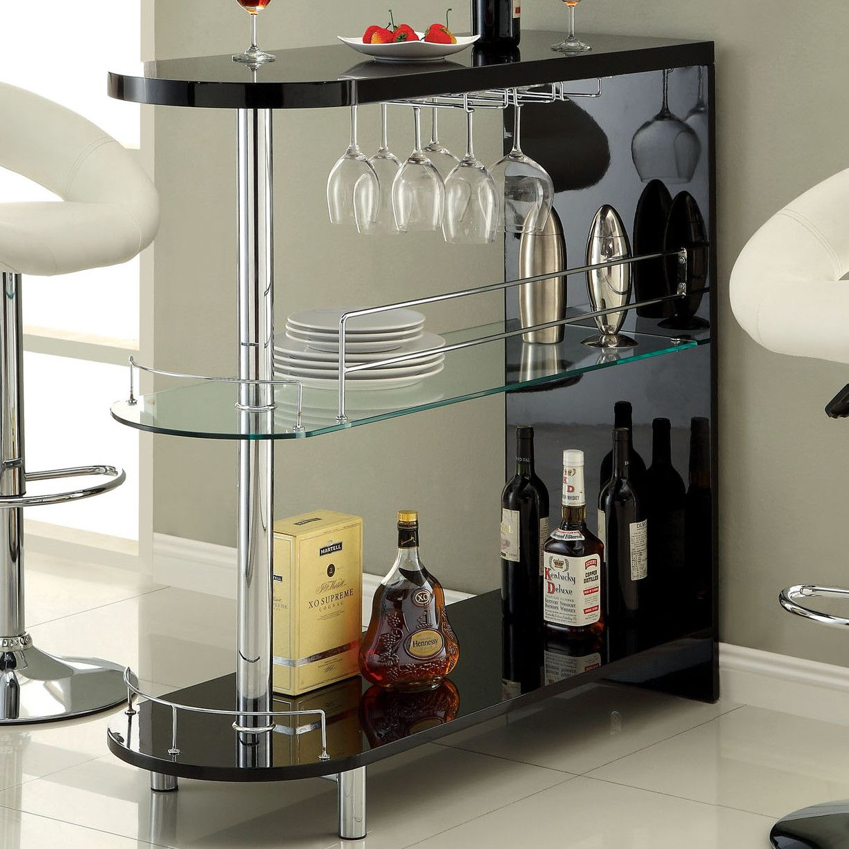 Holla lacquer bar with wine storage products pinterest wine