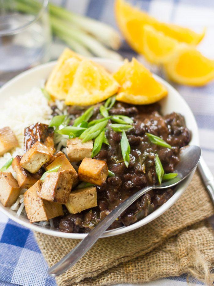Vegan brazilian black bean bowls panza llenaaa pinterest vegan brazilian black bean bowls brazilian food recipesdinner forumfinder Image collections