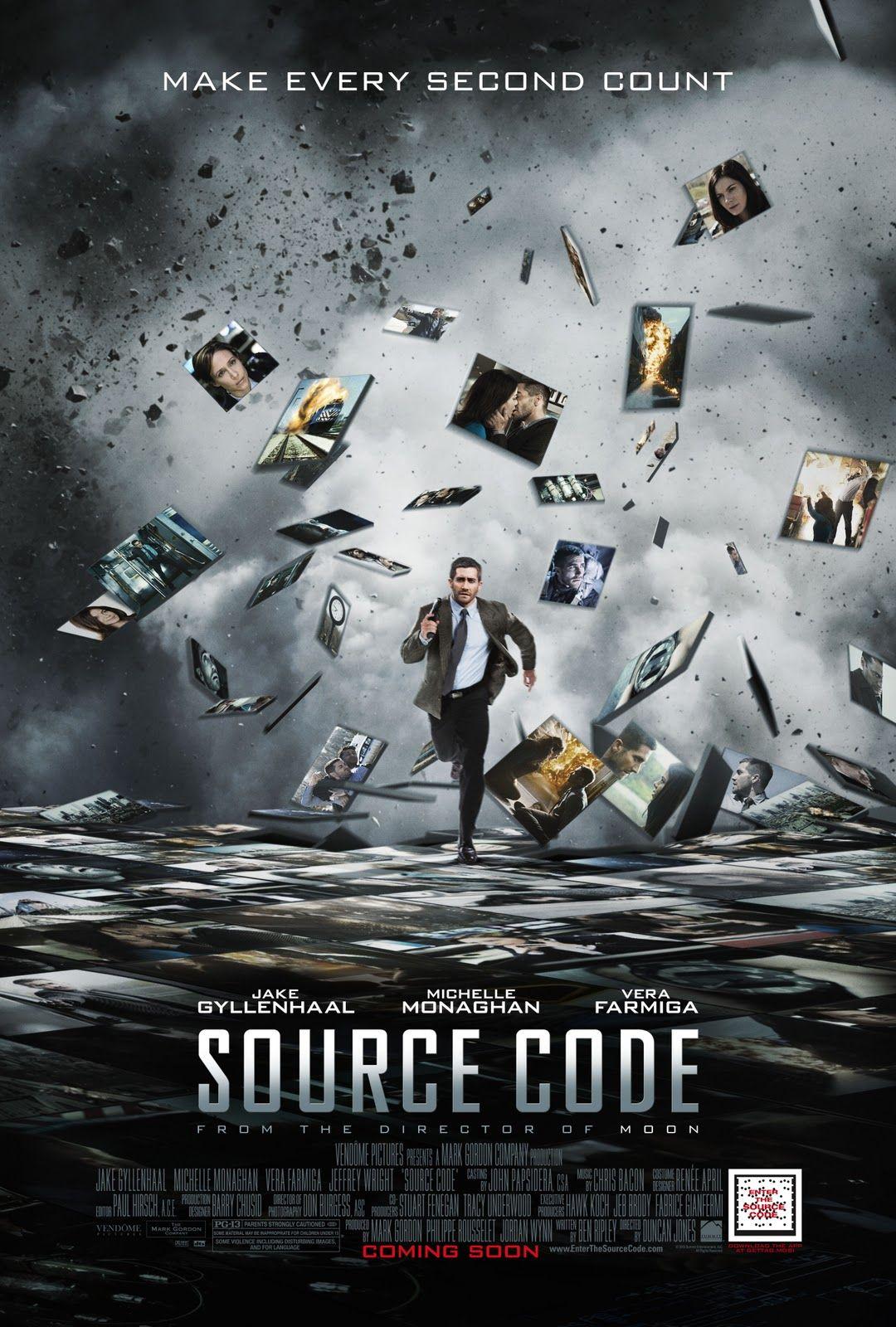 Source Code (2011) Movie Review Code movie, Free movies