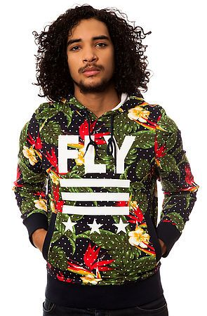 [KL Exclusive]  Add an eccentric piece to your #streetwear collection with The Floral Pullover Hoody by #BornFly.  $74