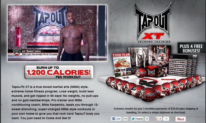 tapout workout free