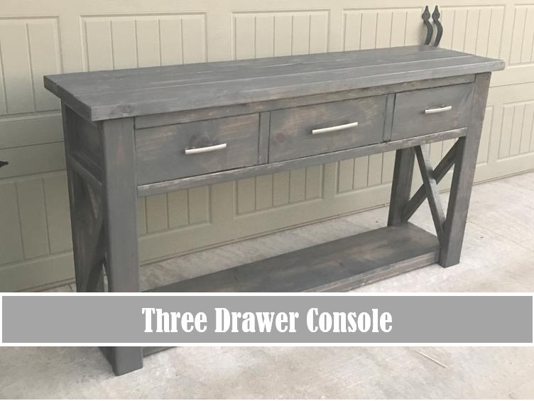 Plans Tutorials Diy Console Table Diy Entryway Table Diy