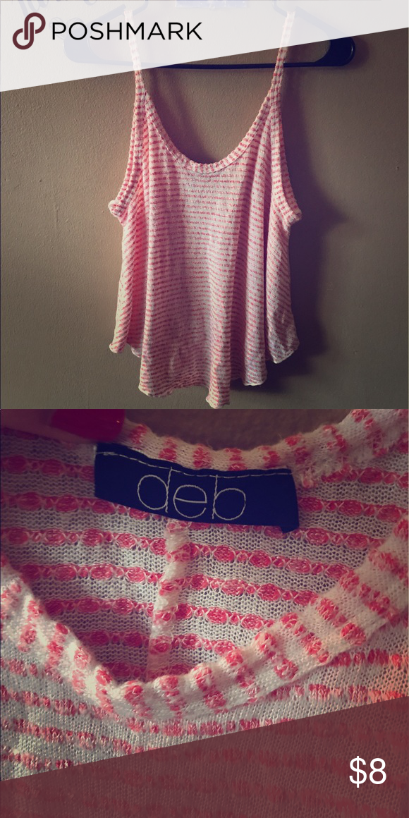 Rue 21 tank top Flowy, sweater like material. Very comfortable. Deb Tops Tank Tops