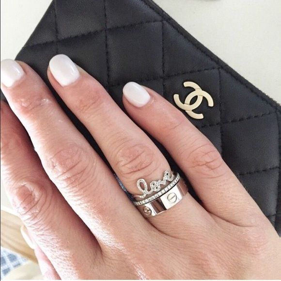 cartier inspired love ring