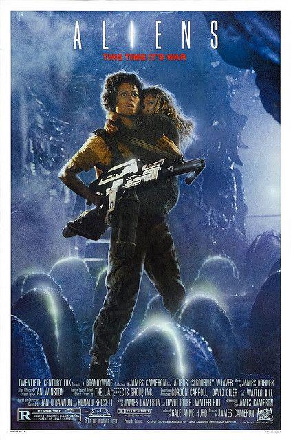 Aliens Movie Poster Alien Movie Poster Aliens Movie 80s Movie