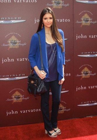 Nina Dobrev - John Varvatos 9th Annual Stuart House Benefit 3/11/2012