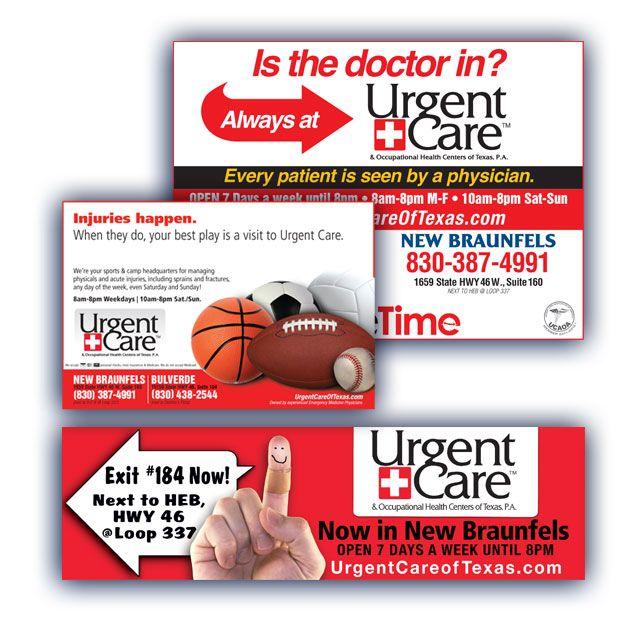 Urgent Care of Texas - Magazine Ad   Poster   Billboard ...