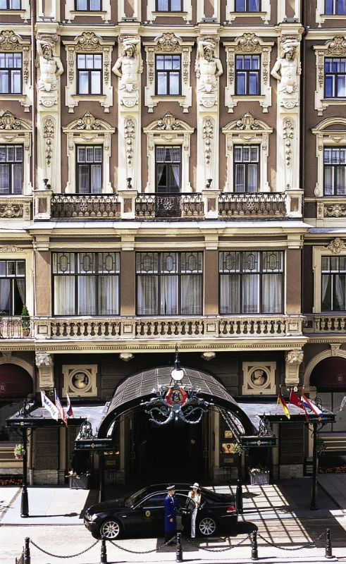Grand Hotel Europe St Petersburg Oteli Sankt Peterburg Gorod