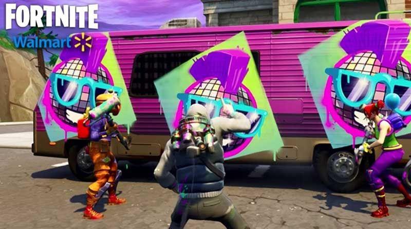 Spray De Walmart En Fortnite Juegos Pinterest Games Epic