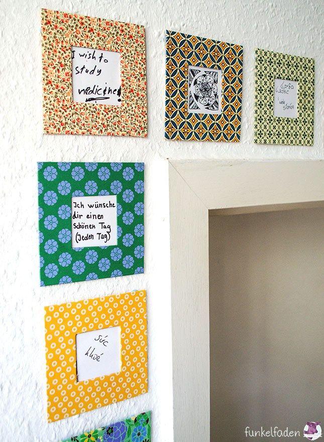 DIY – Eine Wand voller Wünsche › Anleitungen, Do it yourself ...