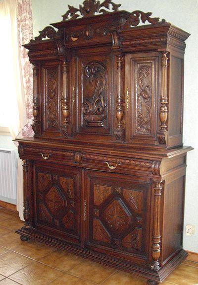 buffet style henri ii meubles pinterest mobilier de salon et bois. Black Bedroom Furniture Sets. Home Design Ideas
