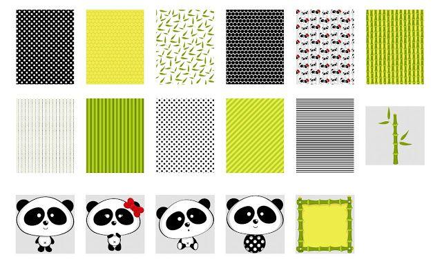 Clipart de Osos Panda.   Panda   Pinterest   Osos panda, Osos and ...