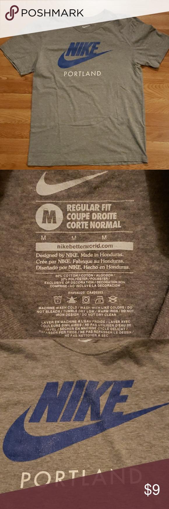 Pin D Oregon Couleur nike portland shirt gently used nike portland oregon t shirt