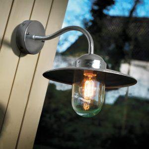 Galvanised Steel Outdoor Wall Lights