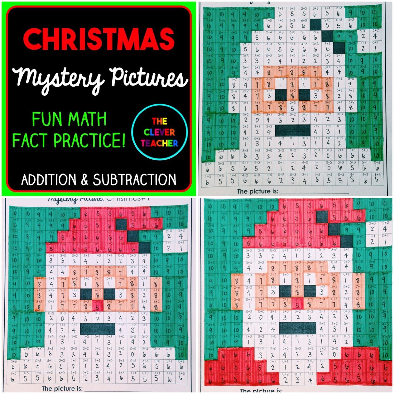Mystery Pictures Christmas