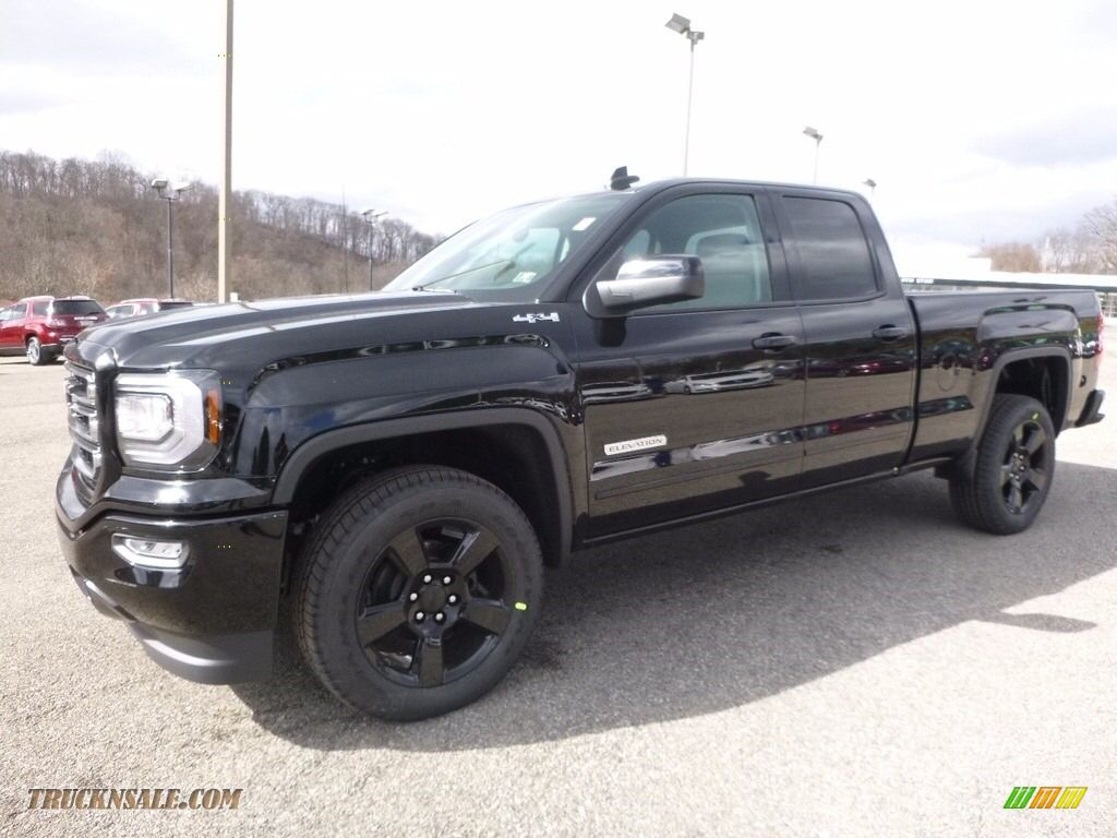 2017 Gmc Sierra 1500 Elevation Edition Double Cab 4wd In Onyx Black 262589 Truck N Sale In 2020 Gmc Sierra Gmc Gmc Sierra 1500