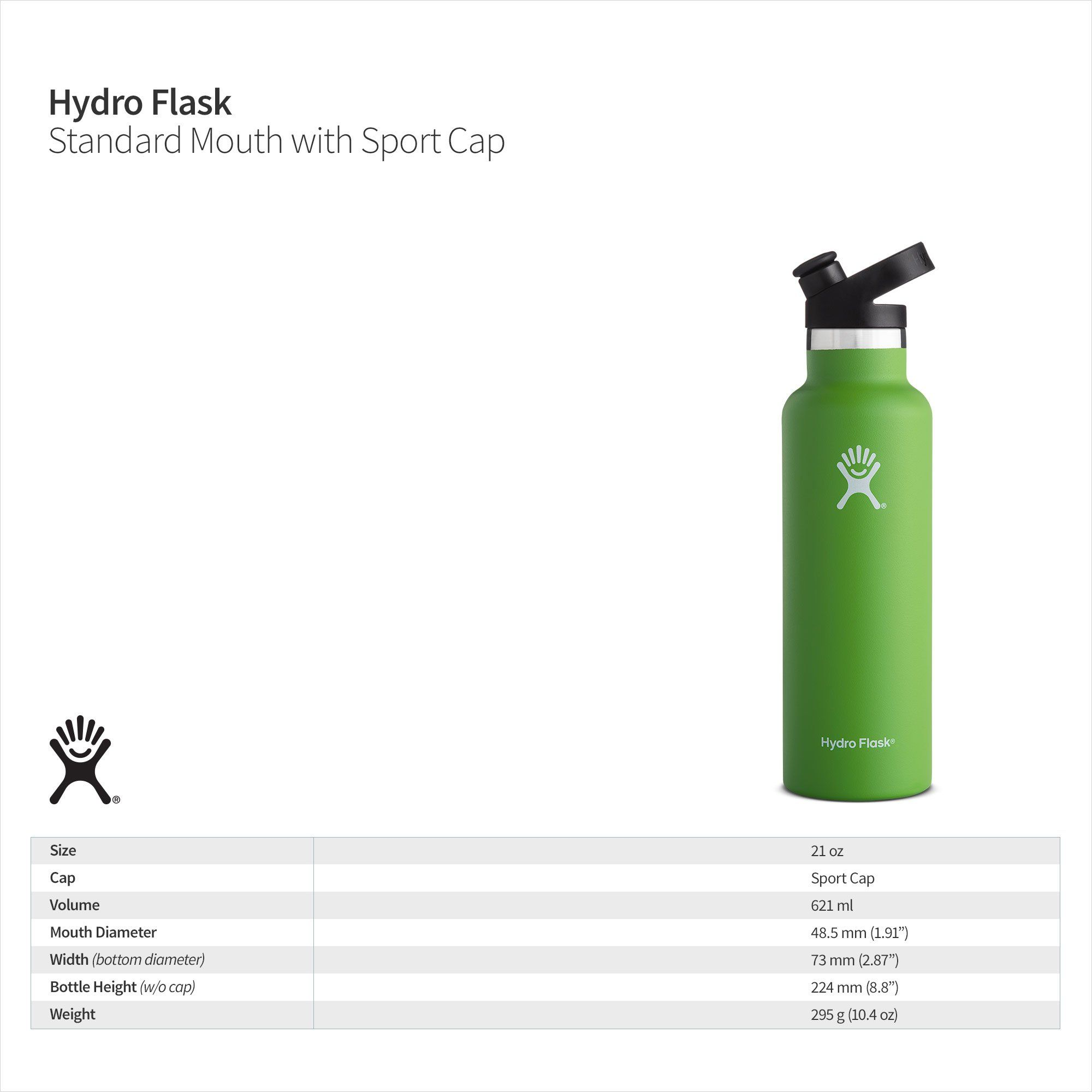 Hydro Flask Stainless Steel Vacuum Insulated Sports Water