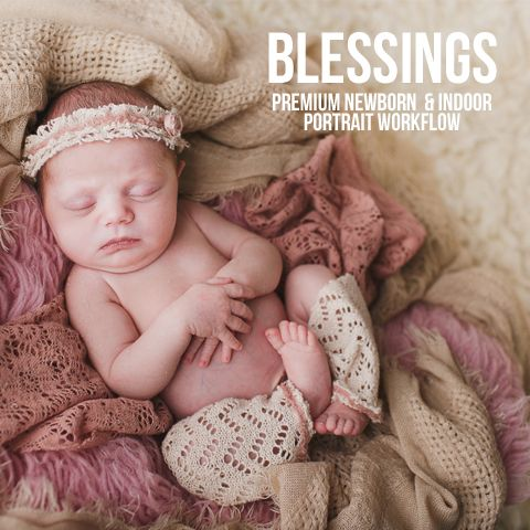 Newborn lightroom presets two blooms lightroom presets for portraits