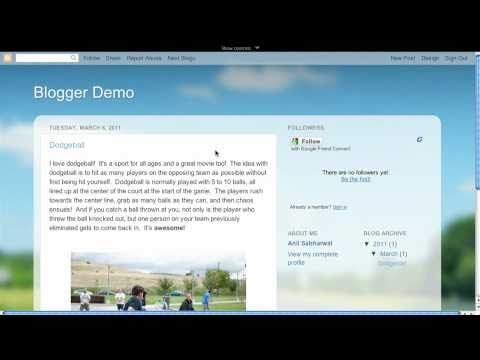 Free Technology for Teachers: Creating Blogs and Websites
