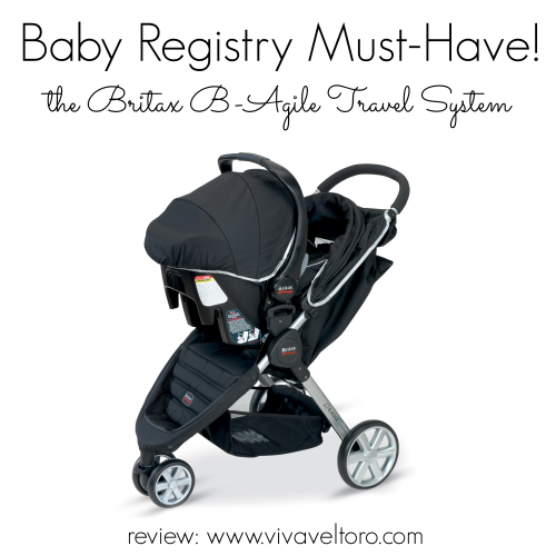 The Britax BAgile Travel System, a Baby Registry Must