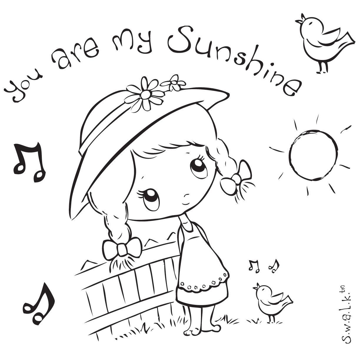 S W A L K Swalk Crafter S Companion Stamp Sunshine