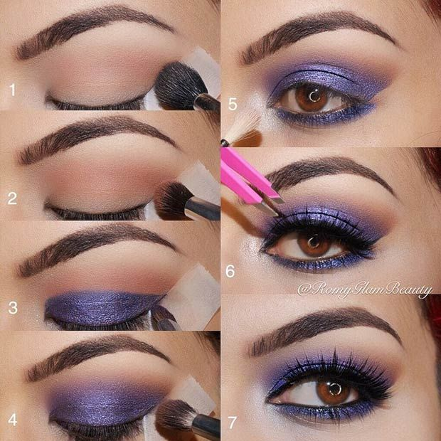 21 Glamorous Smokey Eye Tutorials Stayglam Beauty Pinterest