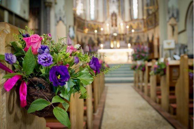 nuevos decoracion de iglesias para boda fantsticas ideas