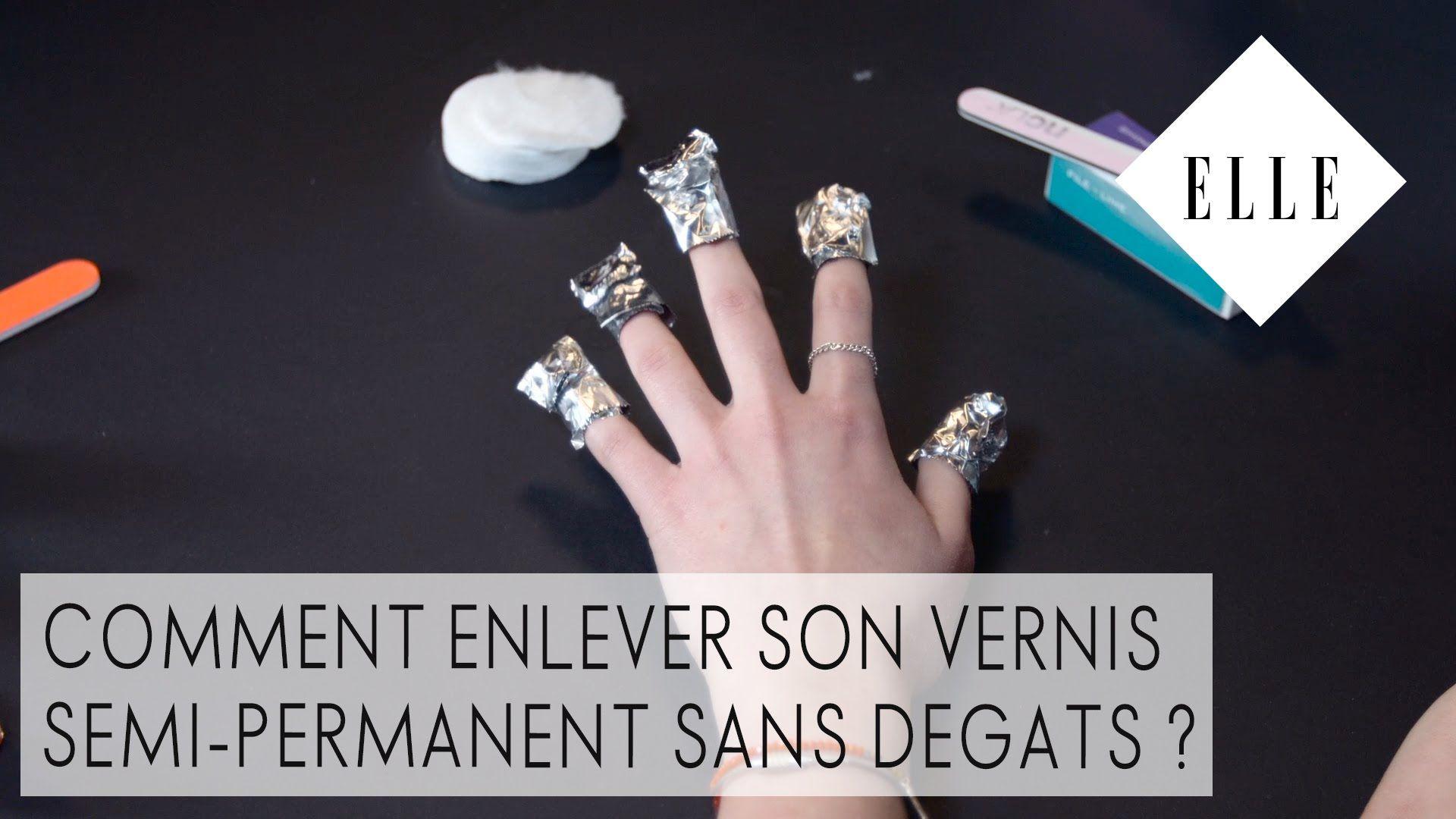 Title Avec Images Vernis Semi Permanent Enlever