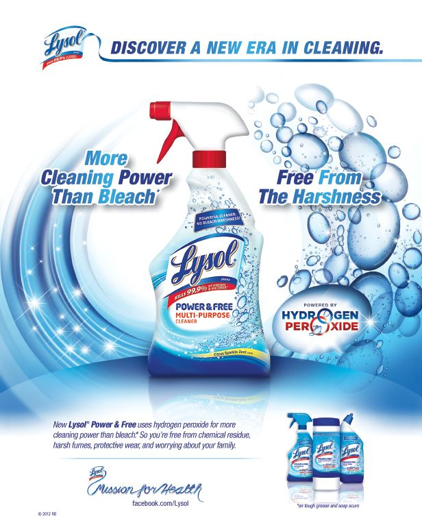 Cleaning Product Advertisement