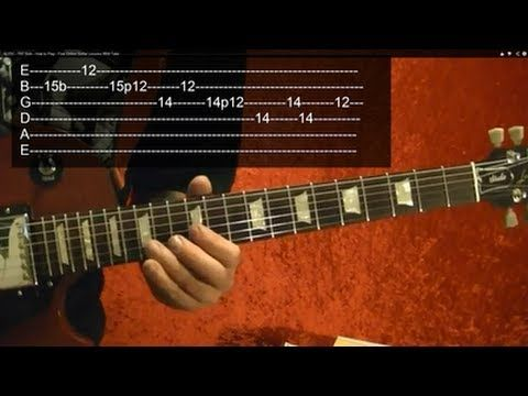 Acdc Tnt Solo How To Play Free Online Guitar Lessons With